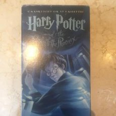 Casetes antiguos: HARRY POTTER AND TH ORDER OF THE PHOENIX CASSETTE AUDIOLIBRO. Lote 245816125
