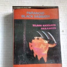 Casetes antiguos: BLACK SABBATH CASSETTE PARANOID EXCELENTE 1988. Lote 245818455