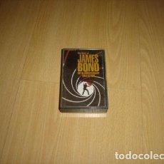 Casetes antiguos: THE BEST OF JAMES BOND CASSETTE ARGENTINA TAPE 007. Lote 245819580