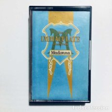 Casetes antiguos: MADONNA THE IMMACULATE COLLECTION CASSETTE. Lote 245821020