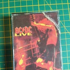 Casetes antiguos: CASSETTE ACDC LIVE. Lote 245826895