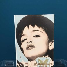 Casetes antiguos: VIDOCASETTE MADONNA THE IMMACULATE COLLECTION IMPORTADO. Lote 245829025