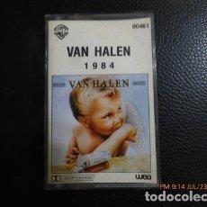 Casetes antiguos: CASSETTE ORIGINAL VAN HALEN 1984. Lote 245829920
