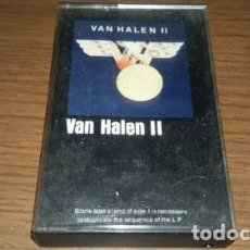 Casetes antiguos: VAN HALEN II CASSETTE MADE IN USA. Lote 245831860