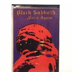 Casetes antiguos: CASSETTE BLACK SABBATH BORN AGAIN ED ARG 1984 NUEVO. Lote 245837300