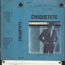 Casetes antiguos: CHIQUETETE APRENDE A SONAR CASSETTE. Lote 245840230
