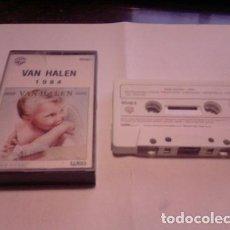 Casetes antiguos: VAN HALEN 1984 CASSETTE NACIONAL ANO 1983. Lote 245840550