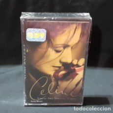 Casetes antiguos: CASSETTE CELINE DION THESE ARE SPECIAL TIMES. Lote 245843050