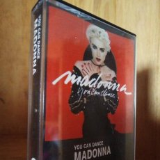 Casetes antiguos: MADONNA YOU CAN DANCE. Lote 245843845