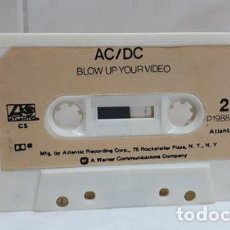 Casetes antiguos: ACDC SOLO CASSETTE BLOW UP YOUR VIDEO ATLANTIC IMPORTADO USA. Lote 245846325