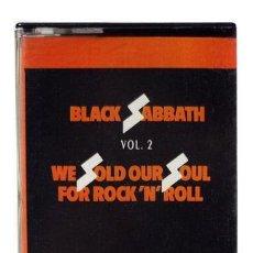 Casetes antiguos: CASSETTE BLACK SABBATH WE SOLD OUR SOUL VOL 2 EDARG. Lote 245846400