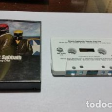 Casetes antiguos: BLACK SABBATH NEVER SAY DIE CASSETTE USA ANO 1978. Lote 245856740