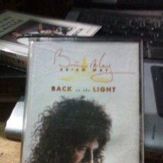 Casetes antiguos: BRIAN MAY BLACK IN THE LIGHT CASSETTE. Lote 245850620