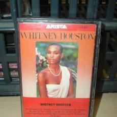 Casetes antiguos: WHITNEY HOUSTON WHITNEY HOUSTON CASSETTE AMERICANO. Lote 245853090