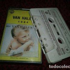 Casetes antiguos: VAN HALEN 1984 CASSETTE. Lote 245875075