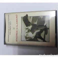 Cassette antiche: ANDRES CALAMARO GRABACIONES ENCONTRADAS VOLUMEN UNO. Lote 245876885