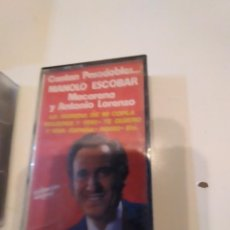 Casetes antiguos: M-14 CASETE MUSICA CANTAN PASODOBLES MANOLO ESCOBAR. Lote 246020505
