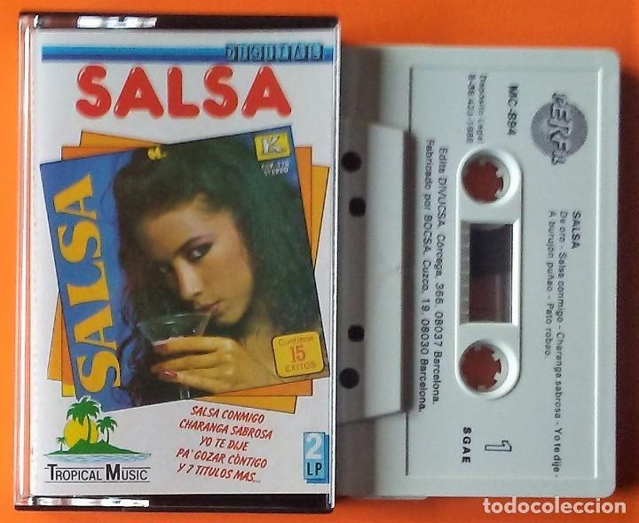 SALSA TROPICAL MUSIC/PERFIL 1988 (Música - Casetes)