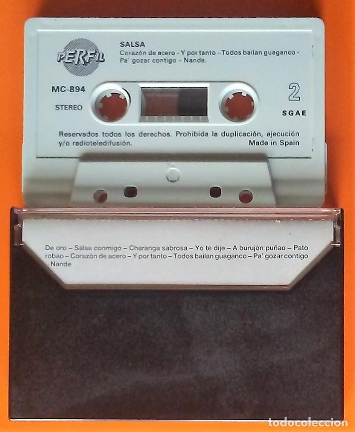 Casetes antiguos: SALSA TROPICAL MUSIC/PERFIL 1988 - Foto 2 - 246053965