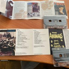 Casetes antiguos: THE ANIMALS (THE COMPLETE ANIMALS) DOBLE CASSETTE (CAI1). Lote 246153475