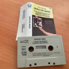 Casetes antiguos: DEPECHE MODE (SHAKE THE DISEASE) SPECIAL EDITION CASSETTE FRANCE (CAI1). Lote 246174790