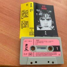 Casetes antiguos: U2 WAR CASSETTE FRANCE 1983 (CAI1). Lote 246175530