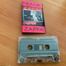 Casetes antiguos: FRANK ZAPPA (IN NEW YORK) CASSETTE (CAI1). Lote 246176755