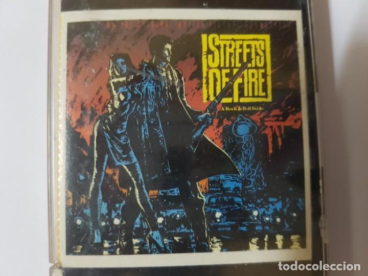Casetes antiguos: BSO Original de la mítica película ochentera Calles de Fuego (Streets of Fire). con Diane Lane - Foto 2 - 247621190