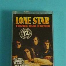 Casetes antiguos: LONE STAR. TODOS SUS ÉXITOS. 12 VERSIONES ORIGINALES. Lote 251091465