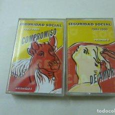 Cassetes antigas: SEGURIDAD SOCIAL - 1982-1995 - 2 CASETES -. Lote 251134575