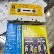 Casetes antiguos: LOS CHUNGUITOS CASETE RECUERDO DE ENRIQUE 1983. Lote 264439874