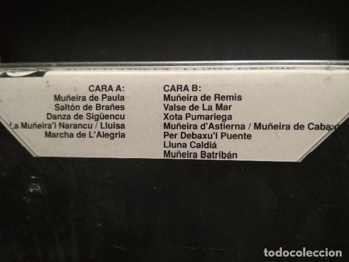 Casetes antiguos: XUACU AMIEVA - LLUNA CALDIA. RARO ALBUM CASETE CASSETTE AÑO 1992 ASTURIAS PRECINTADA PEPETO - Foto 2 - 252314880