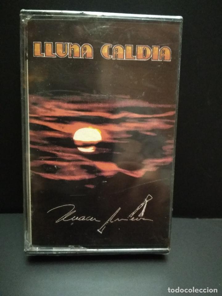 XUACU AMIEVA - LLUNA CALDIA. RARO ALBUM CASETE CASSETTE AÑO 1992 ASTURIAS PRECINTADA PEPETO (Música - Casetes)