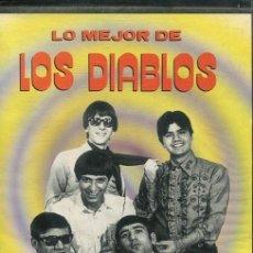 Casetes antiguos: LOS DIABLOS (LO MEJOR) CAJA CON 4 CASETES EDITADO POR ZAFIRO 1990). Lote 252435925