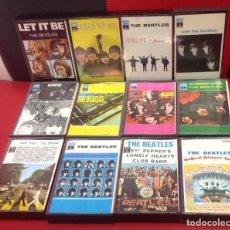 Cassettes Anciennes: THE BEATLES, LOTE DE 12 CASSETTES. Lote 253246820