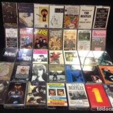 Cassettes Anciennes: THE BEATLES, LOTE DE 35 CASETES, RINGO, MCCARTNEY, LENNON, HARRISON. Lote 253258505
