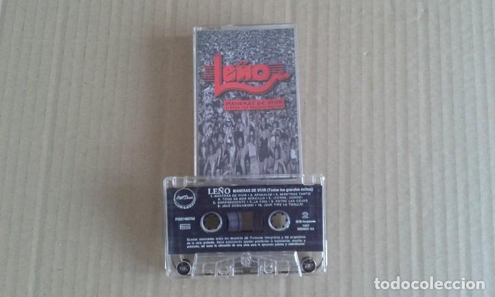 LEÑO - MANERAS DE VIVIR ( TODOS LOS GRANDES EXITOS ) CASETE 1997 (Música - Casetes)