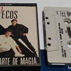 Casetes antiguos: CASETE CINTA CASSETTE ( PECOS - POR ARTE DE MAGIA ) 1984 EPIC CBS - MUY POCO USO. Lote 253572520