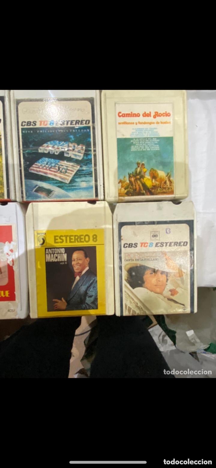 Casetes antiguos: Gran lote de 45 CINTA DE Cassette stereo 8 pistas cintas de música antigua variada . Ver fotos - Foto 3 - 255379380