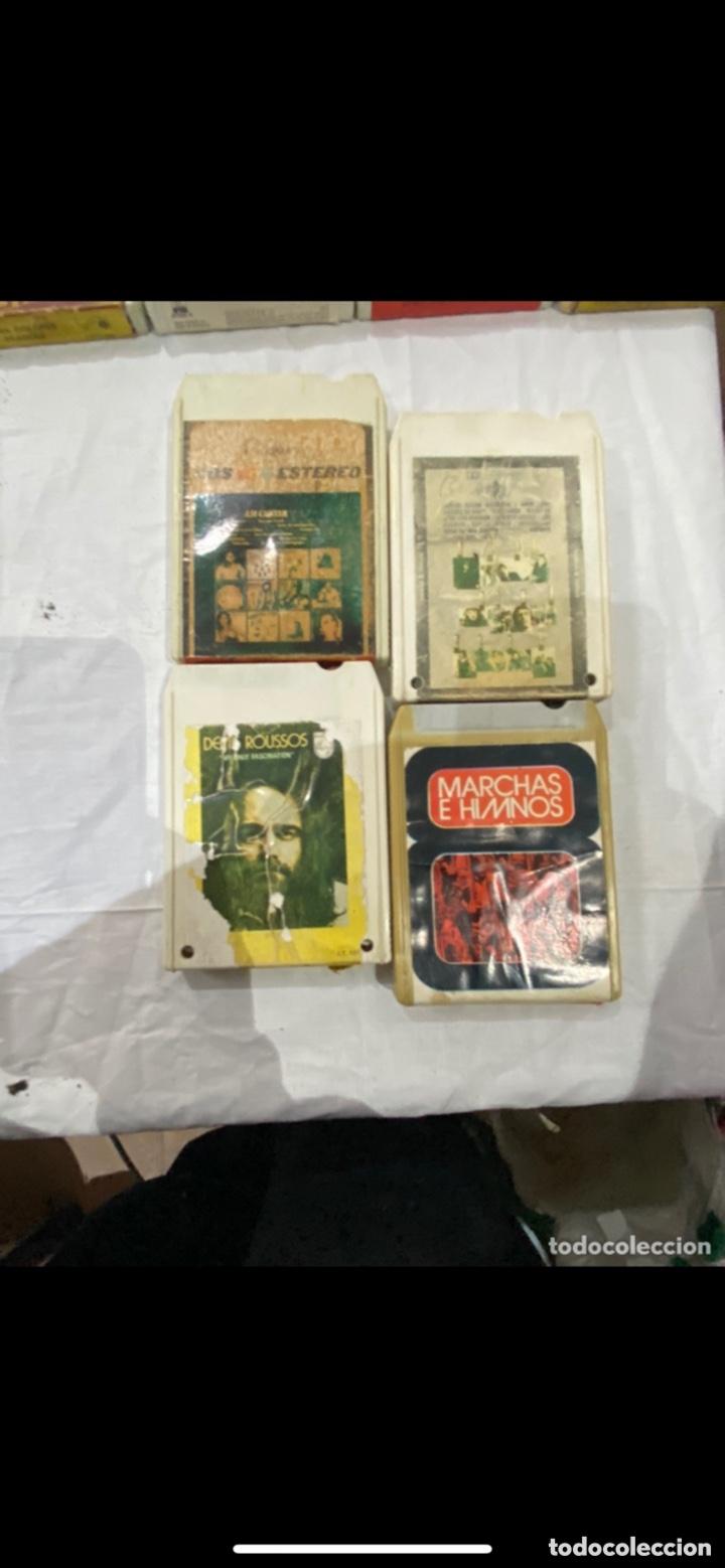 Casetes antiguos: Gran lote de 45 CINTA DE Cassette stereo 8 pistas cintas de música antigua variada . Ver fotos - Foto 4 - 255379380
