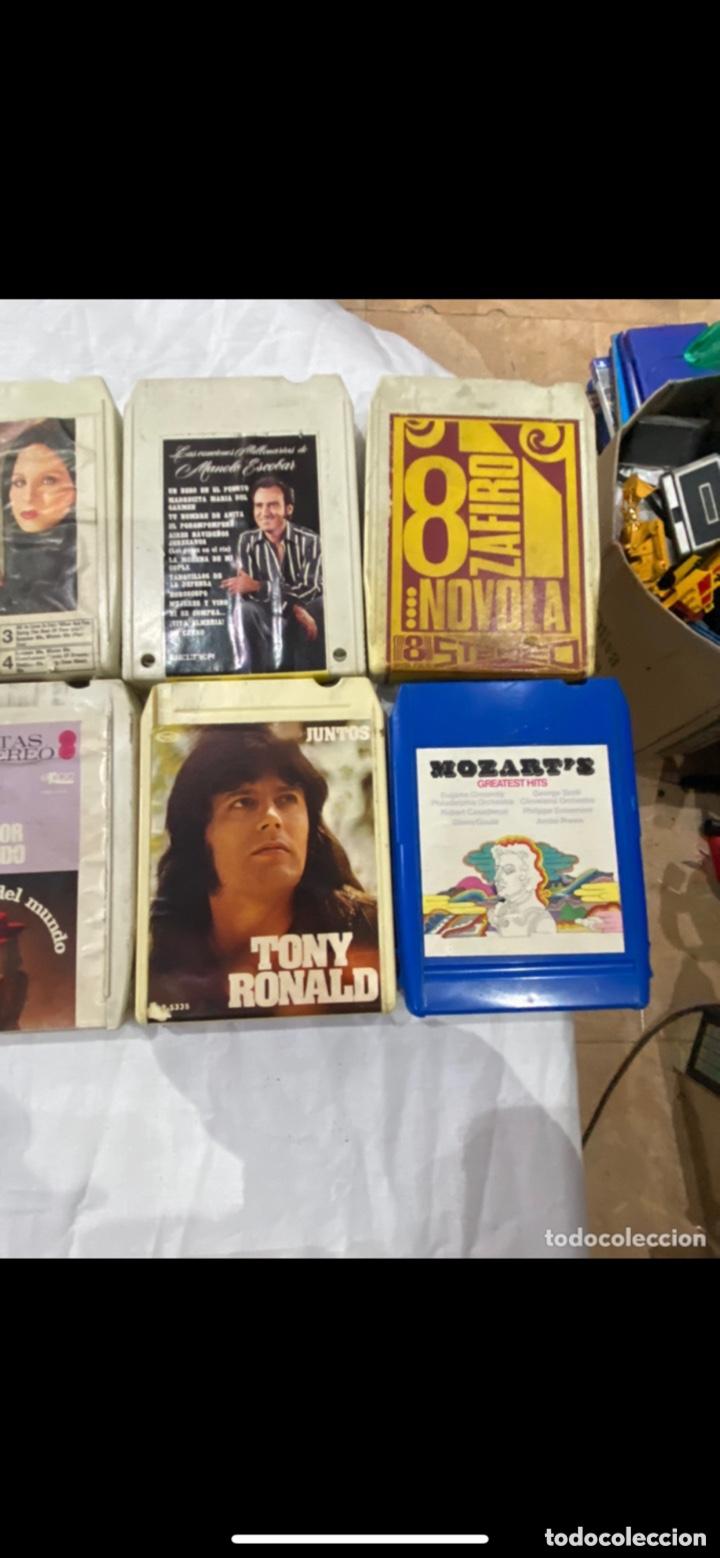 Casetes antiguos: Gran lote de 45 CINTA DE Cassette stereo 8 pistas cintas de música antigua variada . Ver fotos - Foto 5 - 255379380
