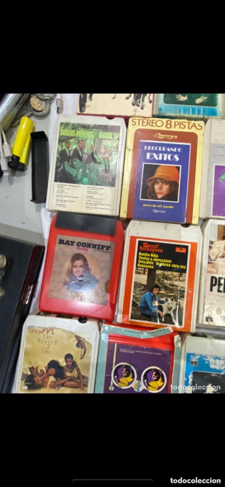 Casetes antiguos: Gran lote de 45 CINTA DE Cassette stereo 8 pistas cintas de música antigua variada . Ver fotos - Foto 10 - 255379380