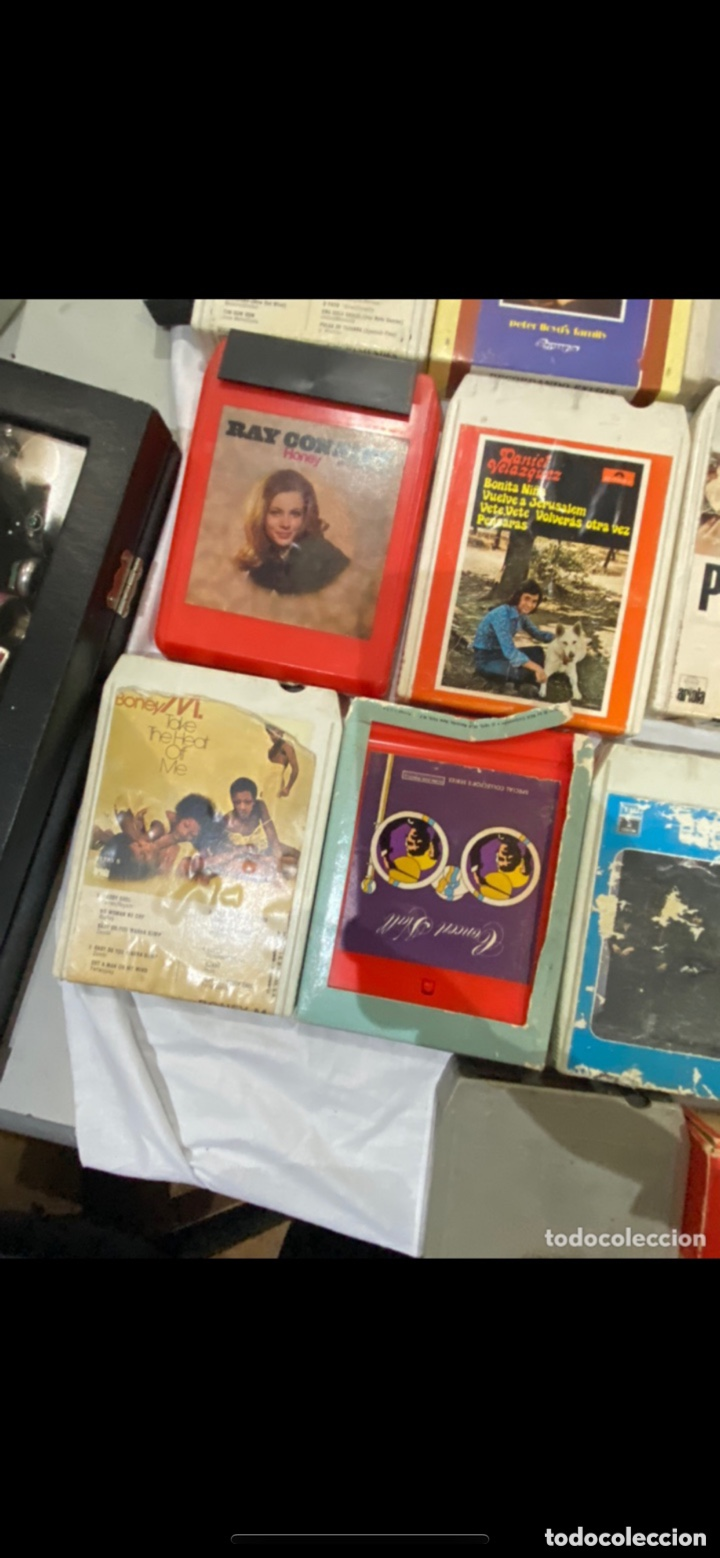Casetes antiguos: Gran lote de 45 CINTA DE Cassette stereo 8 pistas cintas de música antigua variada . Ver fotos - Foto 11 - 255379380