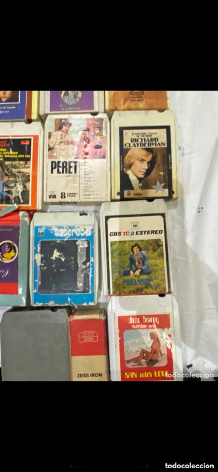 Casetes antiguos: Gran lote de 45 CINTA DE Cassette stereo 8 pistas cintas de música antigua variada . Ver fotos - Foto 12 - 255379380