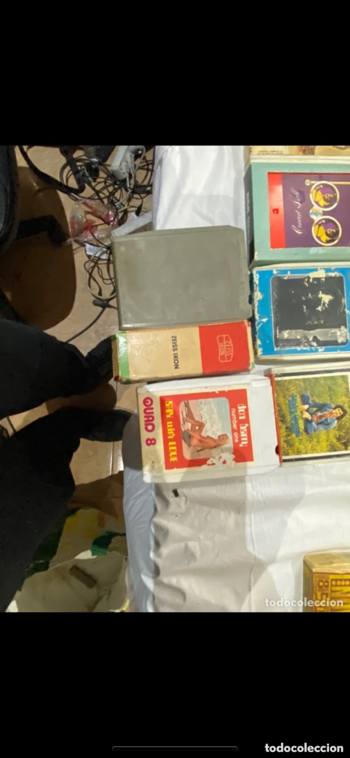 Casetes antiguos: Gran lote de 45 CINTA DE Cassette stereo 8 pistas cintas de música antigua variada . Ver fotos - Foto 13 - 255379380