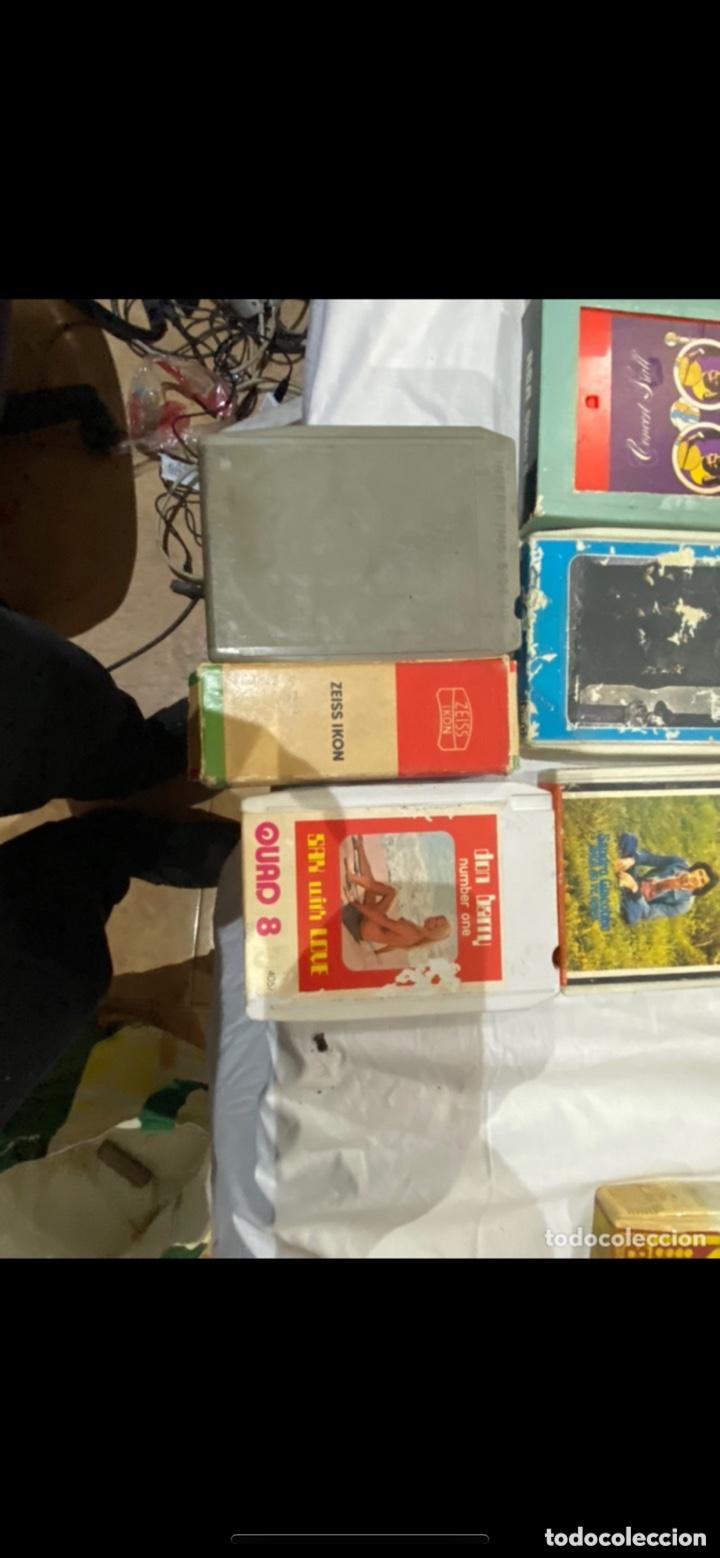 Casetes antiguos: Gran lote de 45 CINTA DE Cassette stereo 8 pistas cintas de música antigua variada . Ver fotos - Foto 14 - 255379380