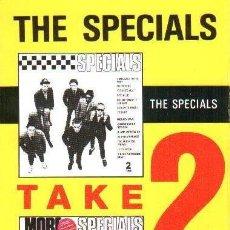 Casetes antiguos: THE SPECIALS - THE SPECIALS / MORE SPECIALS -CASSETTE 1982 -RARA EDICION BRITANICA SKA 2TONE REGGAE. Lote 257596845