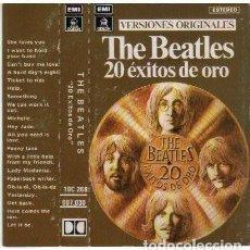 Casetes antiguos: THE BEATLES – 20 ÉXITOS DE ORO -CASSETTE - EDICION ESPAÑOLA. Lote 257601725
