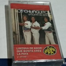 Casetes antiguos: CASETE CINTA(LOS CHUNGUITOS - LIMOSNA DE AMOR )1994 AMALGAMA EMI - RUMBAS FLAMENCO -NUEVO PRECINTADO. Lote 259938975