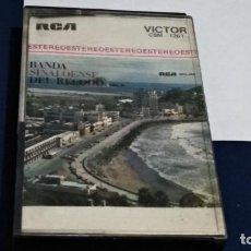 Casetes antiguos: CASETE CASSETTE ( BANDA SINALOENSE DE EL RECODO VOL. II ) 1974 RCA MADE IN MEXICO. CON DEDICATORIA. Lote 260772315